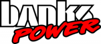 Banks Power - Banks Power Monster Exhaust System with Power Elbow, Single Exit, Black Round Tip 48638-B