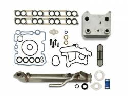 2003-2007 Ford 6.0L Powerstroke - Engine Parts for Ford Powerstoke 6.0L - Sinister Diesel - Sinister Diesel Basic Solution® 6.0L w/ Square Cooler