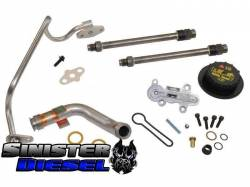 Turbo Chargers & Components - Gaskets & Accessories - Sinister Diesel - Sinister Diesel Update Kit for 2003-2004 6.0L Powerstroke