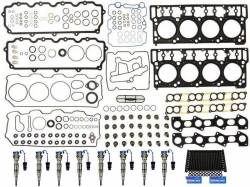 Engine Parts for Ford Powerstoke 6.0L - Cylinder Head Parts - Sinister Diesel - Sinister Diesel Injector Package for 2004.5-2006 (6.0L) Powerstroke w/18mm Head Gaskets