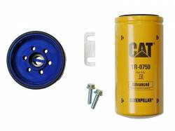 Fuel System - Fuel Supply Parts - Sinister Diesel - Sinister Diesel Cat Fuel Filter Adaptor for GM Duramax 2001-2015