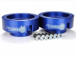 Steering And Suspension - Lift & Leveling Kits - Sinister Diesel - Sinister Diesel Leveling Kit for Dodge Cummins 1994-2012 Blue (4wd Only)