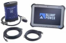 2007.5-2010 GM 6.6L LMM Duramax - 6.6L LMM Tools - Alliant Power - Alliant Power AP0105 Diagnostic Tool Kit CF-54 - GM