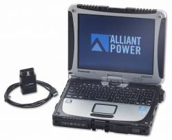 2003-2007 Dodge 5.9L 24V Cummins - Dodge 5.9L Tools - Alliant Power - Alliant Power AP0109 Diagnostic Tool Kit Dell - 2006 and later Chrysler