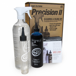 Exhaust - Exhaust Regeneration - S&B Filters - S&B Filters Precision II: Cleaning & Oil Kit (Blue Oil) 88-0009
