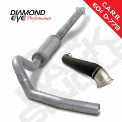 6.6L LLY Exhaust Parts - Exhaust Systems - Diamond Eye Performance - Diamond Eye Performance 2004-2005 CHEVY 6.6L LLY DURAMAX 2500/3500 (ALL CAB AND BED LENGHTS)-4in. ALUMIN K4120A