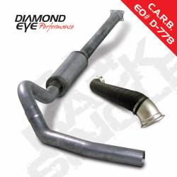 6.6L LLY Exhaust Parts - Exhaust Systems - Diamond Eye Performance - Diamond Eye Performance 2004-2005 CHEVY 6.6L LLY DURAMAX 2500/3500 (ALL CAB AND BED LENGHTS)-4in. SS K4120S