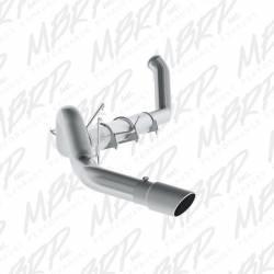 "Exhaust - Exhaust Systems - MBRP Exhaust - MBRP Exhaust 5"" Turbo Back, Single Side Exit, AL"