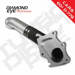 Exhaust - Down Pipes - Diamond Eye Performance - Diamond Eye Performance 2001-2004 CHEVY/GMC 6.6L LB7 DURAMAX 2500/3500 (ALL CAB AND BED LENGTHS)