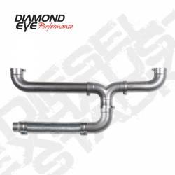 "Exhaust - Exhaust Parts - Diamond Eye Performance - Diamond Eye Performance Universal Exhaust Stack Kit, 5""  Aluminized  Exhaust Stack Kit,  150100"