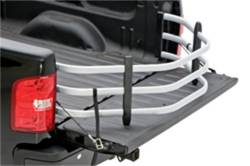 AMP Research - AMP BEDXTENDER HD SPORT - 1988-2007 GM, 1999-2018 FORD, 1994-2018 DODGE RAM, 2016-2018 NISSAN TITAN XD - SILVER - Image 2