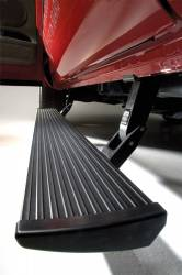 Exterior - Running Boards - AMP Research - AMP Powerstep W/ Plug & Play - 2017-2018 Chevrolet Silverado 2500 HD, Silverado 3500 HD, 2017-2018 GMC Sierra 2500 HD, Sierra 3500 HD