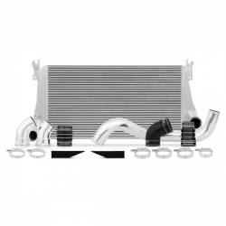 2007.5-2010 GM 6.6L LMM Duramax - Air Intakes & Accessories - Mishimoto - Mishimoto Chevrolet/GMC 6.6L Duramax Intercooler Kit 2006-2010 - Silver