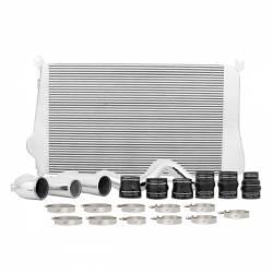 2011–2016 GM 6.6L LML Duramax Performance Parts - 6.6L LMLAir Intakes & Accessories - Mishimoto - Mishimoto Chevrolet/GMC 6.6L Duramax Intercooler Kit, 2011-2016 Silver