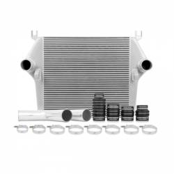 2003-2007 Dodge 5.9L 24V Cummins - Air Intakes & Accessories - Mishimoto - Mishimoto Dodge 5.9L Cummins Intercooler Kit 2003-2007 - Silver