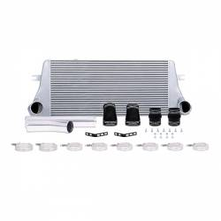 1994-1998 Dodge 5.9L 12V Cummins - Air Intakes & Accessories for 2nd Gen Dodge Ram 12V - Mishimoto - Mishimoto Dodge 5.9L Cummins Intercooler Kit 1994-2002 - Silver