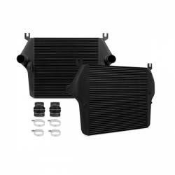 2003-2007 Dodge 5.9L 24V Cummins - Air Intakes & Accessories - Mishimoto - Mishimoto Dodge 5.9L/6.7 Cummins Intercooler 2003-2009 - Black