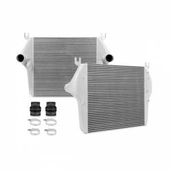 2003-2007 Dodge 5.9L 24V Cummins - Air Intakes & Accessories - Mishimoto - Mishimoto Dodge 5.9L/6.7 Cummins Intercooler 2003-2009 - Silver