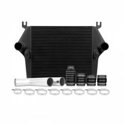 Air Intakes & Accessories - Intercoolers & Pipes - Mishimoto - Mishimoto Dodge 6.7L Cummins Intercooler Kit 2007.5-2009 - Black