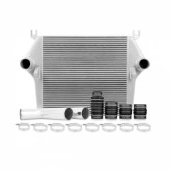 Air Intakes & Accessories - Intercoolers & Pipes - Mishimoto - Mishimoto Dodge 6.7L Cummins Intercooler Kit 2007.5-2009 - Silver