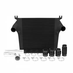 Air Intakes & Accessories - Intercoolers & Pipes - Mishimoto - Mishimoto Dodge 6.7L Cummins Intercooler Kit 2010-2012 - Black