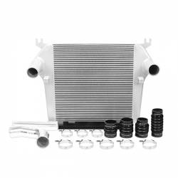 Air Intakes & Accessories - Intercoolers & Pipes - Mishimoto - Mishimoto Dodge 6.7L Cummins Intercooler Kit 2010-2012 - Silver