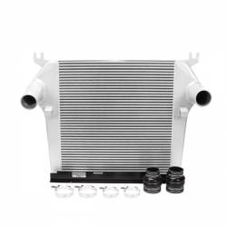 Air Intakes & Accessories - Intercoolers & Pipes - Mishimoto - Mishimoto Dodge 6.7L Cummins Intercooler 2010-2012 - Silver