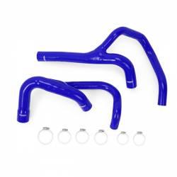2007.5-2018 Dodge 6.7L 24V Cummins - Dodge Ram 6.7LCooling System Parts - Mishimoto - Mishimoto Dodge Ram 6.7L Cummins Silicone Hose Kit, 2013-2014 - Blue