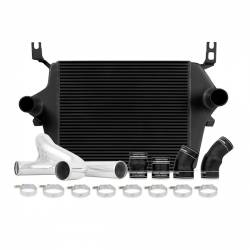 Air Intakes & Accessories for Ford Powerstroke 6.0L - Intercoolers & Pipes - Mishimoto - Mishimoto Ford 6.0L Powerstroke Intercooler Kit 2003-2007 - Black