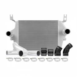 Air Intakes & Accessories for Ford Powerstroke 6.0L - Intercoolers & Pipes - Mishimoto - Mishimoto Ford 6.0L Powerstroke Intercooler Kit 2003-2007 - Silver