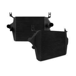 Air Intakes & Accessories for Ford Powerstroke 6.0L - Intercoolers & Pipes - Mishimoto - Mishimoto Ford 6.0L Powerstroke Intercooler 2003-2007 - Black