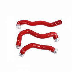 2008-2010 Ford 6.4L Powerstroke Parts - Ford 6.4L Cooling System Parts - Mishimoto - Mishimoto Ford 6.4L Powerstroke Silicone Coolant Hose Kit, 2008-2010 - Red