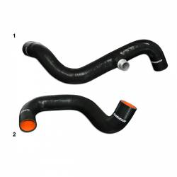 1994–1997 Ford 7.3L Performance Powerstroke Parts - Cooling System - Mishimoto - Mishimoto Ford 7.3L Powerstroke Silicone Coolant Hose Kit 1995-1997 - Black