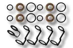Engine Parts - Gaskets And Seals - Industrial Injection - Duramax 6.6L Injector And Return Kit (Services 4 Injectors)