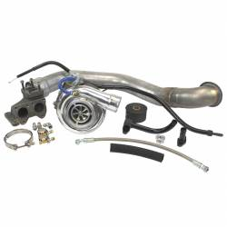 2006–2007 GM 6.6L LLY/LBZ Duramax Performance Parts - 6.6L LLY/LBZ Turbochargers & Components - Industrial Injection - LLY/LBZ/LMM Duramax PhatShaft 66 Single Turbo Kit (2004.5-2010)