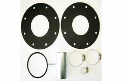 Fuel System & Components - Fuel Tanks & Parts - Titan Fuel Tanks - Titan Fuel Tank Spare Tire Aux Fuel System LB7  Adapter KIT
