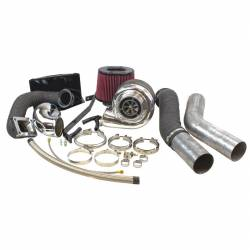1994-1998 Dodge 5.9L 12V Cummins - Turbo Chargers & Components - Industrial Injection - Dodge Cummins 2nd Gen Compound Phatshaft Add-A-Turbo Kit (1994-2002)