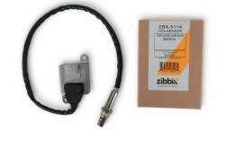 2007.5-2019 Dodge 6.7L 24V Cummins - Exhaust - Zibbix - Zibbix NOx Nitrogen Oxide Sensor Inlet For 6.7L 11-12 Dodge Cummins