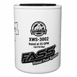 Fuel System & Components - Fuel Supply Parts - FASS - FASS XWS-3002 Extreme Water Separator (Replaces FS-1001)