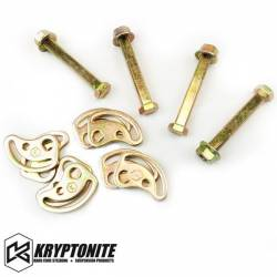 Steering And Suspension - Suspension Parts - KRYPTONITE PRODUCTS - Kryptonite Cam Bolt Kit 2011-2016 Chevy / GM 2500 HD 3500