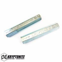 Shop By Part - Steering And Suspension - KRYPTONITE PRODUCTS - Kryptonite Solid Steel Tie Rod Sleeves - Zinc Plated -  2011-Current Chevy / GMC 2500 / 3500 HD