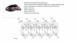 TrackTech Fasteners - TrackTech 6.0L Head Stud Kit For 03-10 Ford Powerstroke Diesel VT365 - Image 2
