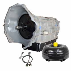 Dodge Ram 6.7L Transmissions and Parts - Automatic Transmission Assembly - BD Diesel - Dodge 68RFE Transmission & ProForce 3D Torque Converter Package w/ Billet Input Shaft 2x4 - 2007.5-2018