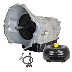 Transmission - Automatic Transmission Assembly - BD Diesel - Dodge 68RFE Transmission & ProForce 3D Torque Converter Package w/ Billet Input Shaft 2x4 - 2007.5-2018