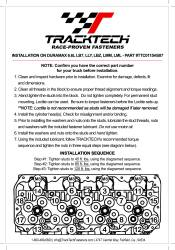 TrackTech Fasteners - TrackTech 6.6L Duramax Head Studs Kit For 01-16 LB7 LLY LBZ LMM LML Chevy / GMC - Image 2