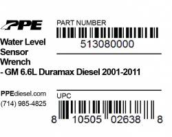 PPE Diesel - Water Level Sensor Wrench GM 6.6L 01-2011 PPE Diesel - Image 2