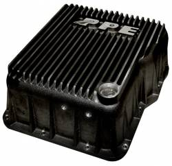 6.6L LLY/LBZ Transmission & Transfer Case Parts - Automatic Transmission Parts - PPE Diesel - PPE Deep Transmission Pan GM Allison 1000 And 2000 Series 1000 And 2000 Series Black PPE Diesel