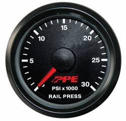 Fuel System & Components - Fuel Supply Parts - PPE Diesel - Fuel Rail Pressure Gauge GM 01-05 PPE Diesel