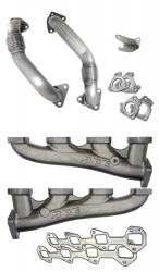 2001-2004 GM 6.6L LB7 Duramax - Engine Parts - PPE Diesel - Manifolds And Up-Pipes GM 2001 Ca 01-04 Fed LB7 No Y At Aluminum PPE Diesel