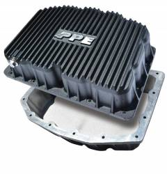 2011–2016 Ford 6.7L Powerstroke Parts - Ford 6.7L Engine Parts - PPE Diesel - Ford Engine Pan 6.7L Black PPE Diesel